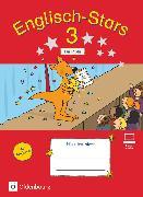 Cover-Bild zu Brune, Jasmin: Englisch-Stars, Allgemeine Ausgabe, 3. Schuljahr, Übungsheft für Profis, Mit Lösungen im Übungsheft und Audiotracks als Download