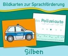 Cover-Bild zu Verlag an der Ruhr, Redaktionsteam: Bildkarten zur Sprachförderung: Silben. Neuauflage