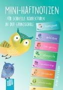 Cover-Bild zu Verlag an der Ruhr, Redaktionsteam: Mini-Haftnotizen für schnelle Korrekturen in der Grundschule