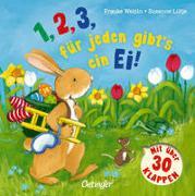 Cover-Bild zu Lütje, Susanne: 1,2,3 für jeden gibt´s ein Ei!