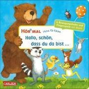 Cover-Bild zu diverse: Hör mal (Soundbuch): Verse für Kleine: Hallo, schön, dass du da bist