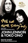 Cover-Bild zu Lennon, John: All We Are Saying (eBook)