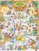 Cover-Bild zu Korsch Verlag (Hrsg.): Wimmel-Adventskalender