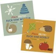 Cover-Bild zu Natur Buggybuch-Set: Herbst und Winter von Wiehle, Katrin