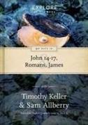 Cover-Bild zu Keller, Dr Timothy: 90 Days in John 14-17, Romans & James