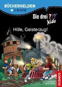 Cover-Bild zu Die drei ??? Kids, Bücherhelden, Hilfe, Geisterzug!