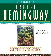 Cover-Bild zu Green Hills of Africa