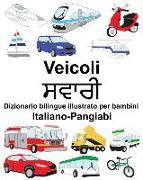 Cover-Bild zu Italiano-Pangiabi Veicoli Dizionario Bilingue Illustrato Per Bambini