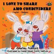 Cover-Bild zu I Love to Share Amo Condividere