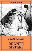 Cover-Bild zu Bronte, Charlotte: 3 books to know Brontë Sisters (eBook)
