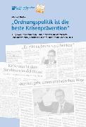 """Cover-Bild zu Hüther, Michael: """"Ordnungspolitik ist die beste Krisenprävention"""" (eBook)"""