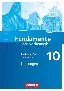 Cover-Bild zu Berg, Alexander: Fundamente der Mathematik, Rheinland-Pfalz, 10. Schuljahr, Lösungen zum Schülerbuch