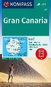Cover-Bild zu KOMPASS-Karten GmbH (Hrsg.): KOMPASS Wanderkarte Gran Canaria. 1:50'000