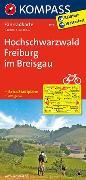 Cover-Bild zu KOMPASS-Karten GmbH (Hrsg.): KOMPASS Fahrradkarte Hochschwarzwald, Freiburg im Breisgau. 1:70'000