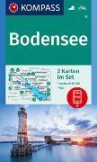 Cover-Bild zu KOMPASS-Karten GmbH (Hrsg.): KOMPASS Wanderkarte Bodensee. 1:35'000