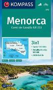 Cover-Bild zu KOMPASS-Karten GmbH (Hrsg.): KOMPASS Wanderkarte Menorca. 1:50'000