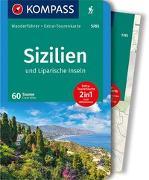 Cover-Bild zu Wille, Franz: KOMPASS Wanderführer Sizilien und Liparische Inseln