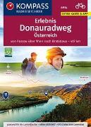 Cover-Bild zu KOMPASS-Karten GmbH (Hrsg.): KOMPASS RadReiseFührer Donauradweg Österreich
