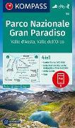 Cover-Bild zu KOMPASS-Karten GmbH (Hrsg.): KOMPASS Wanderkarte Parco Nazionale Gran Paradiso, Valle d'Aosta, Valle dell'Orco. 1:50'000