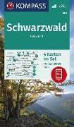 Cover-Bild zu KOMPASS-Karten GmbH (Hrsg.): KOMPASS Wanderkarte Schwarzwald Gesamt. 1:50'000