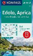 Cover-Bild zu KOMPASS-Karten GmbH (Hrsg.): KOMPASS Wanderkarte Edolo, Aprica, Ponte di Legno, Val Camonica. 1:35'000