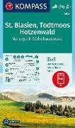 Cover-Bild zu KOMPASS-Karten GmbH (Hrsg.): KOMPASS Wanderkarte St. Blasien, Todtmoos, Hotzenwald, Naturpark Südschwarzwald. 1:25'000
