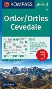 Cover-Bild zu KOMPASS-Karten GmbH (Hrsg.): KOMPASS Wanderkarte Ortler/Ortles, Cevedale. 1:50'000