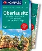 Cover-Bild zu Tschersich, Kay: KOMPASS Wanderführer Oberlausitz, Lausitzer Heide-, Teich- und Bergland, mit Zittauer Gebirge. 1:75'000