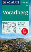 Cover-Bild zu KOMPASS-Karten GmbH (Hrsg.): KOMPASS Wanderkarte Vorarlberg. 1:50'000