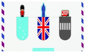 Cover-Bild zu Magnetlesezeichen Fernweh London