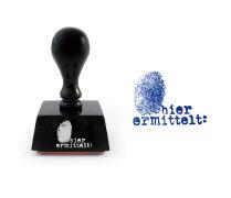 Cover-Bild zu Bastei Lübbe Krimiwelt. Exlibris-Stempel hier ermittelt