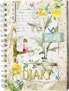 Cover-Bild zu Daphne's Diary - Taschenkalender 2020