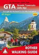 Cover-Bild zu Kürschner, Iris: GTA Grande Traversata delle Alpi (englische Ausgabe)