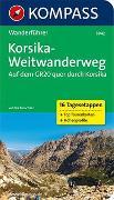 Cover-Bild zu Kürschner, Iris: KOMPASS Wanderführer Korsika-Weitwanderweg, Auf dem GR20 quer durch Korsika