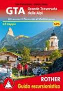 Cover-Bild zu Kürschner, Iris: GTA Grande Traversata delle Alpi (italienische Ausgabe)