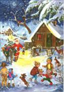 Cover-Bild zu Brändi Set Adventskalender Doppelkarten Motiv 40025