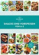 Cover-Bild zu Dr. Oetker: Snacks und Vorspeisen von A-Z