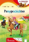 Cover-Bild zu Müller, Karin: Ponygeschichten