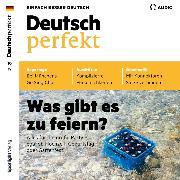 Cover-Bild zu eBook Deutsch lernen Audio - Was gibt es zu feiern?