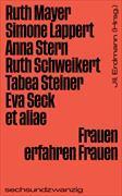 Cover-Bild zu Frauen erfahren Frauen von Bosch, Liliana