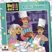 Cover-Bild zu Krimi-Dinner von Wich, Henriette