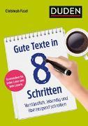Cover-Bild zu Gute Texte in 8 Schritten von Fasel, Christoph