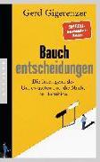 Cover-Bild zu Bauchentscheidungen von Gigerenzer, Gerd