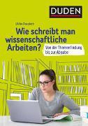 Cover-Bild zu Wie schreibt man wissenschaftliche Arbeiten? von Pospiech, Ulrike