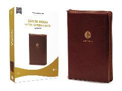 Cover-Bild zu Biblia Reina Valera 1960, Letra Supergigante, Leathersoft, Café, con Cierre / Spanish Bible RVR60 Super Giant Print, Leathersoft, Brown w/ Zipper von RVR 1960- Reina Valera 1960,