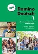 Cover-Bild zu Domino Deutsch 1 NEU I Lehr- und Arbeitsbuch mit Audios digital A.1.1 von Büchler, Susanne