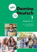 Cover-Bild zu Domino Deutsch 1 NEU I Trainingsbuch Kopiervorlage A1.1 von Büchler, Susanne