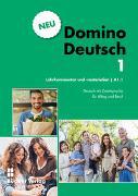 Cover-Bild zu Domino Deutsch 1 NEU I Lehrkommentar und -materialien A1.1 von Büchler, Susanne