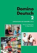 Cover-Bild zu Domino Deutsch 2 NEU I Lehrkommentar und Materialien A1.2 von Büchler, Susanne