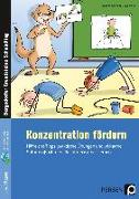 Cover-Bild zu Konzentration fördern von Schnabel, Johanna